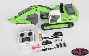 RC4WD Earth Digger 360L Verde: Escavatore idraulico RC