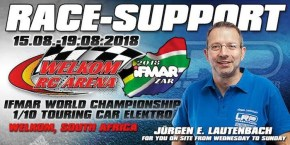 IFMAR TC electric World Championship 2018 in Sudafrica!