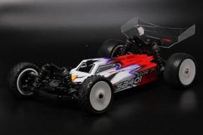 PR Racing SB401-R KIT buggy 4WD in scala 1/10