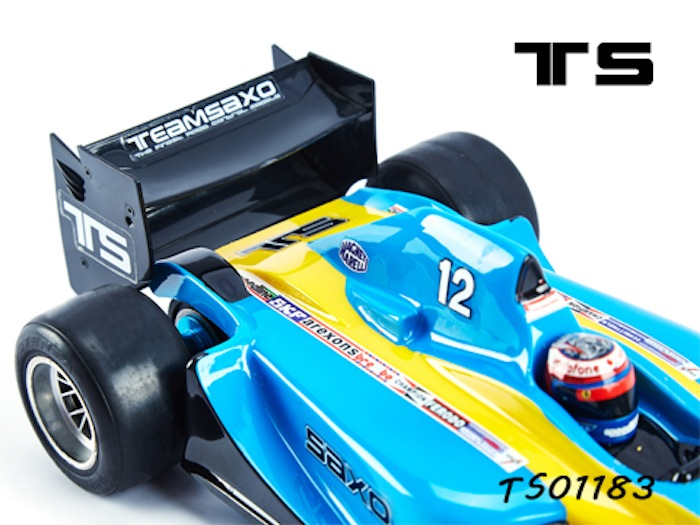 Teamsaxo: carrozzeria F1 in scala 1:10