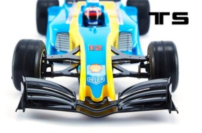 Teamsaxo: carrozzeria F1 in scala 1/10