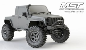 Max Speed Technology: MST JP1 nuova carrozzeria per Scaler e Crawler