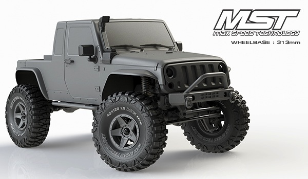 MST JP1: carrozzeria Scale Crawler