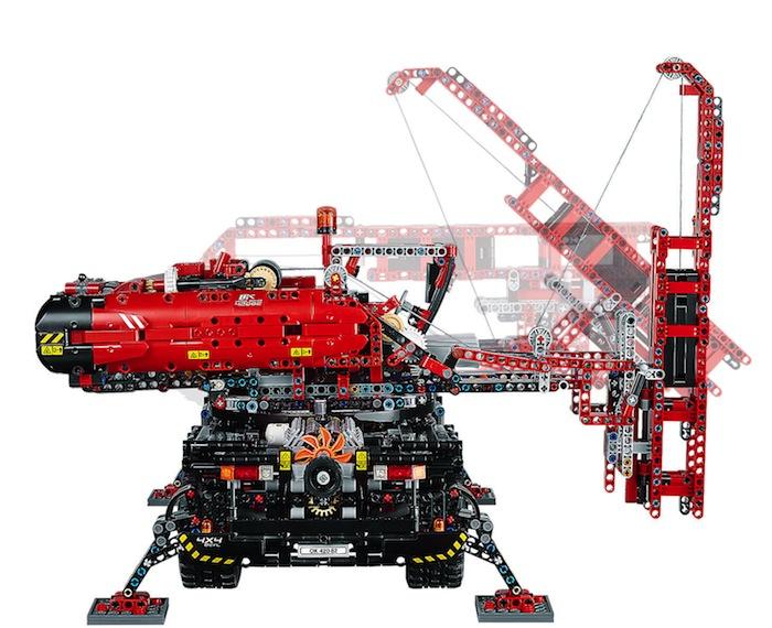 modello alternativo LEGO Technic Grande gru mobile - Crane 42082
