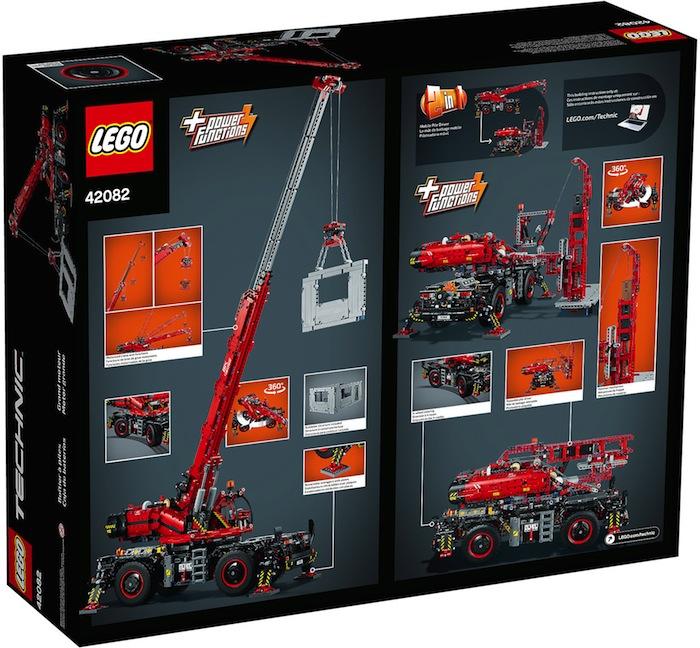 scatola LEGO Technic Grande gru mobile - Crane 42082