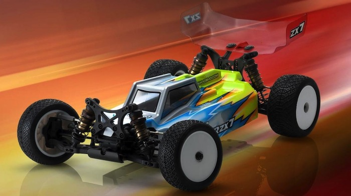 Kyosho ZX7 4WD buggy in scala 1/10: First look