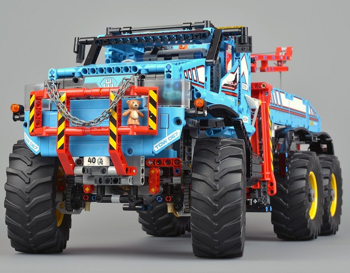 Lego Technic RC trucks with ProLine Tires