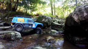 Axial SCX10II Forest and River Run - Video Modellismo