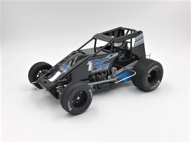RC Racing scale Oval Racing Sprint Car 1RC