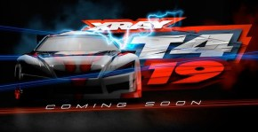 XRAY T4 2019 edition touring car: Coming soon