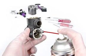 Motori a scoppio RC: pulizia e carburatore