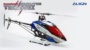 ALIGN Trex 550X Dominator con Alan Szabo Jr