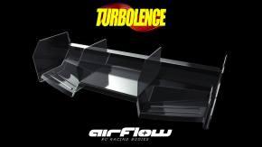 Airflow Turbolence: Alettone posteriore per buggy e truggy 1/8