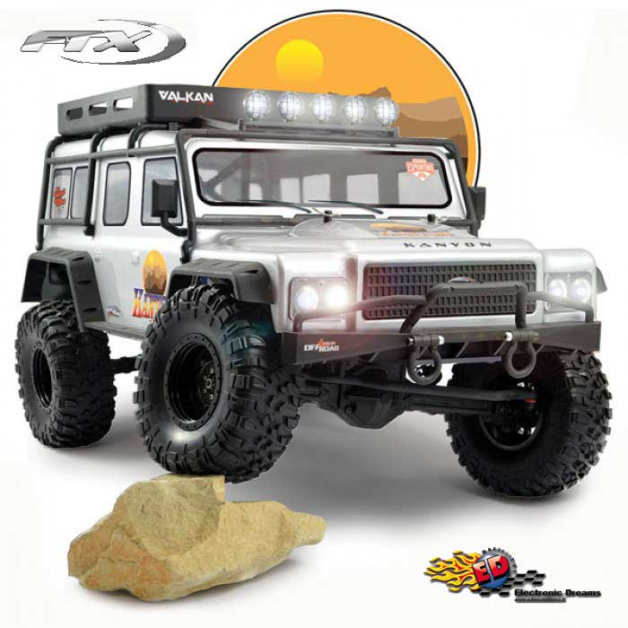 FTX: KANYON 4x4 - TRAIL CRAWLER in scala 1/10