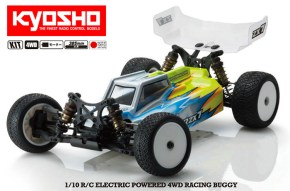 Kyosho Lazer ZX7 Video: Buggy 4WD in scala 1/10