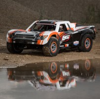 Losi Super Baja Rey Video: Desert Truck 4WD in scala 1/6