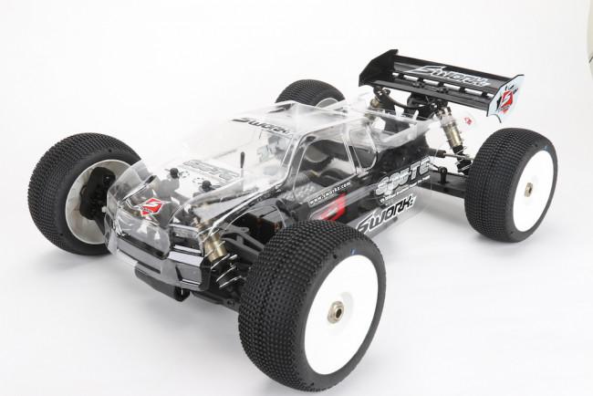 SWorkz: S35 TE 1/8 Off-Road Pro EP Truggy Kit