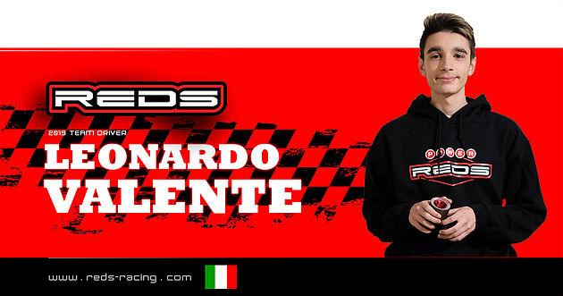 Leoanardo Valente rimane con Reds Racing per il 2019!