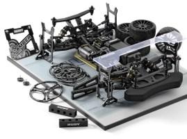 Novità Xray GTXE 2019: on-road elettrica in scala 1/8