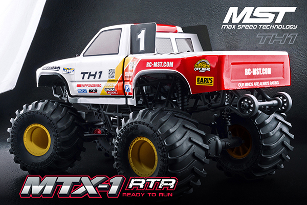 MST: Nuovo Monster Truck MTX1