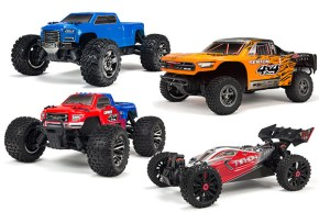ARRMA: Typhon, Senton, Granite e Big Rock Crew