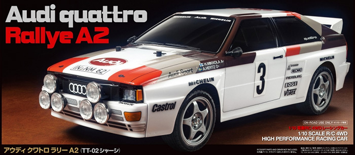 Audi Quattro Rally A2