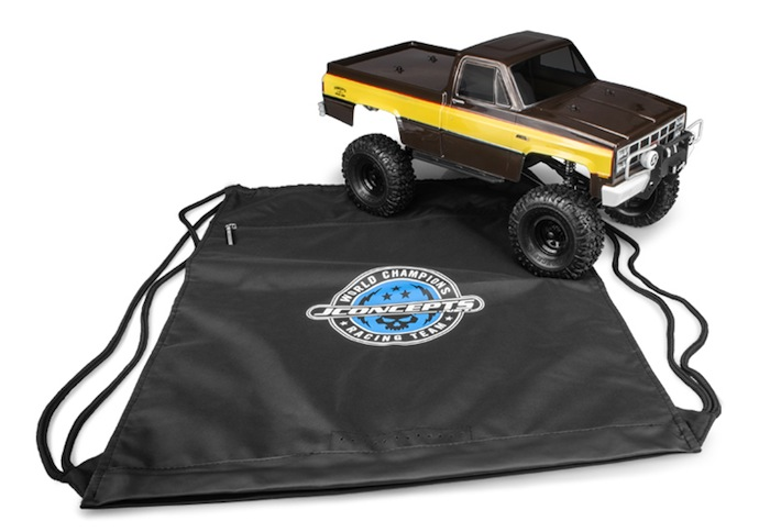 "JConcepts- Trail Truck ""Drawstring"" Tote Bag"
