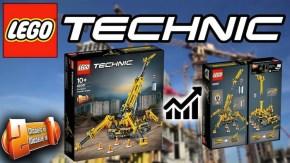 LEGO Technic: Gru cingolata compatta - Set 42097