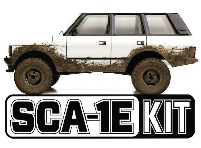 Carisma: SCA-1E Range Rover in Kit di montaggio