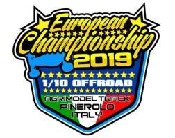 2019 European Championship 1/10 4WD Buggy: in diretta da Pinerolo