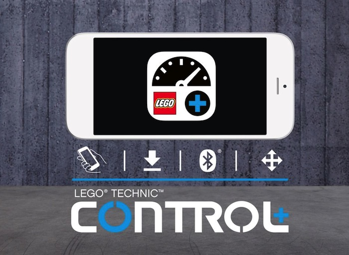 LEGO Technic Control plus app
