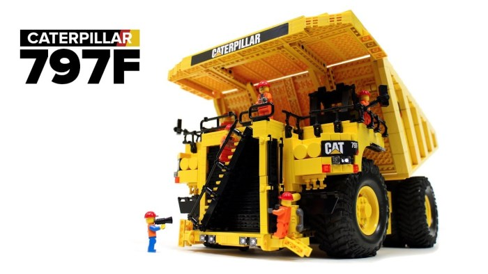 LEGO Technic: RC Caterpillar 797F: il camion più grosso del mondo!