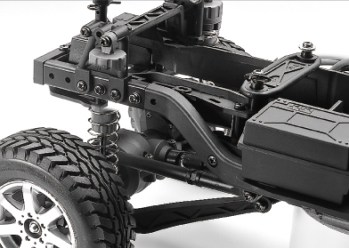 Tamiya: Mercedes-Benz G 500 - CC02 chassis