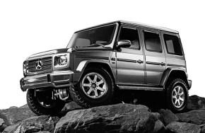 Novità Tamiya: Mercedes G500 su telaio CC-02