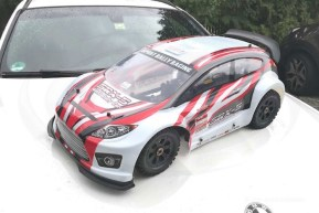 CS Racing SRX-5 Rally Sport Car in scala 1/5