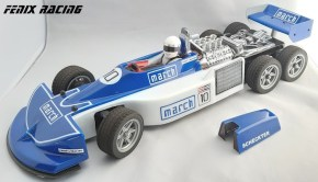 Fenix Racing March 240 Formula Uno a sei ruote