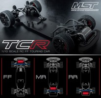 Max Speed Technology TCR-FF 2WD Touring Cars