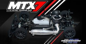 Mugen MTX7 Nitro Touring Car in Scala 1/10