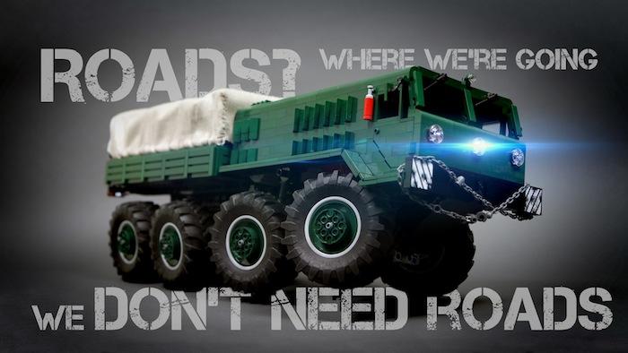 sariel lego truck MAZ-535
