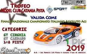 Trofeo Model Club Catania per 1/8 GT cardano e cinghia
