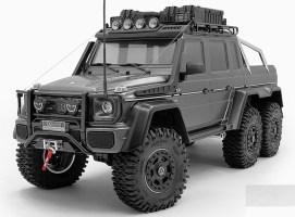 RC4WD: TNK 2.2 ruote Beadlock per Mercedes-Benz G 63 AMG 6×6
