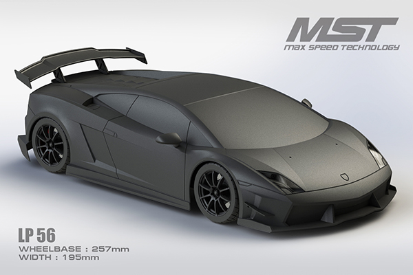 Max Speed Technology: carrozzeria LP56 Touring Car