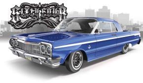 Redcat: 1964 Chevrolet Impala SS - Lowrider radiocomandato realmente funzionante!