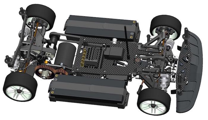 Serpent: Natrix 750e 4WD 1/10 EP - Drag racing