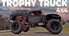 LEGO: 4x4 Trophy Truck radiocomandato!