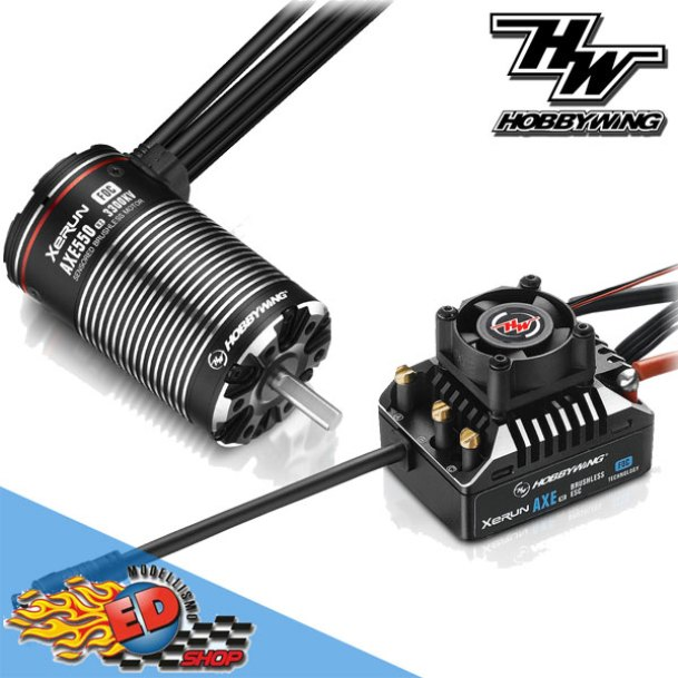 XERUN: AXE R2 Brushless ESC combo motore 3300KV