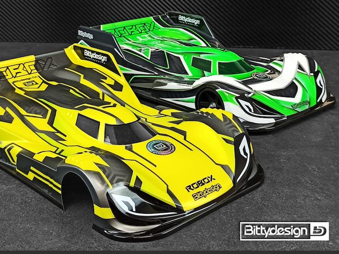 Bittydesign: Robox, una nuova carrozzeria per la categoria 1/12 Pan-Car