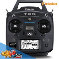 FUTABA: Radiocomando 6K/V2 8CH R3006SB FHSS con telemetria