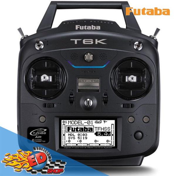 FUTABA- Radiocomando 6K V2 8CH R3006SB FHSS telemetria Mode 1