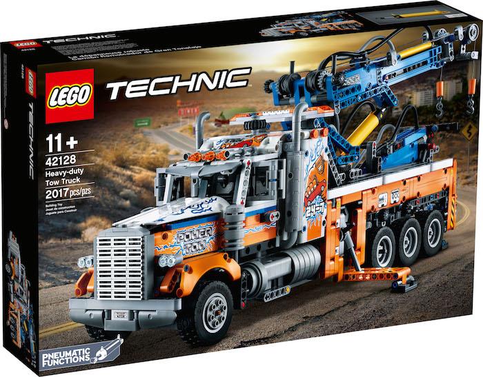 LEGO Technic- American Tow Truck (42128) box